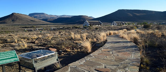 The Famous Fossil Trail at the Karoo National Park