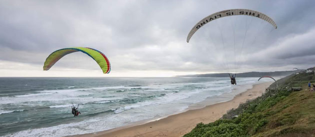 DOLPHIN PARAGLIDING