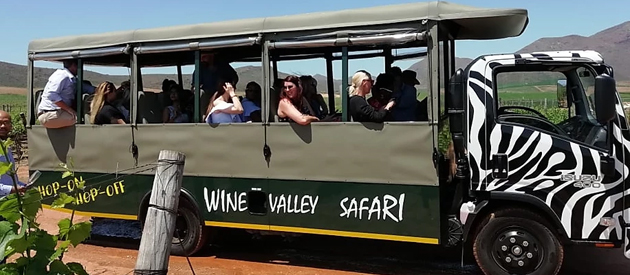 WINE VALLEY SAFARI, ROBERTSON WINE VALLEY