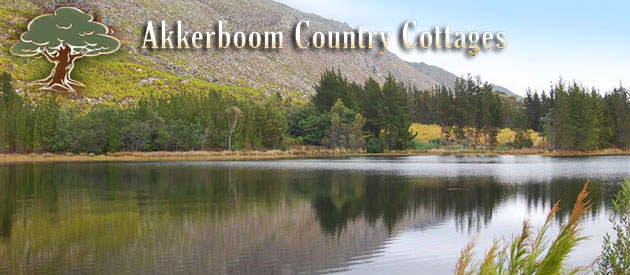 AKKERBOOM COUNTRY COTTAGES, BARRYDALE (23km)