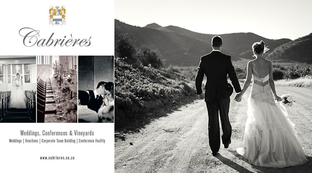 CABRIERES - Wedding and Function Venue