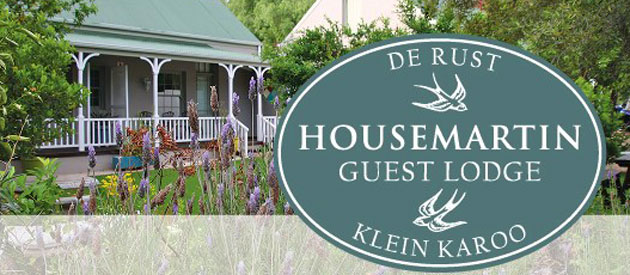 HOUSEMARTIN GUEST LODGE, DE RUST