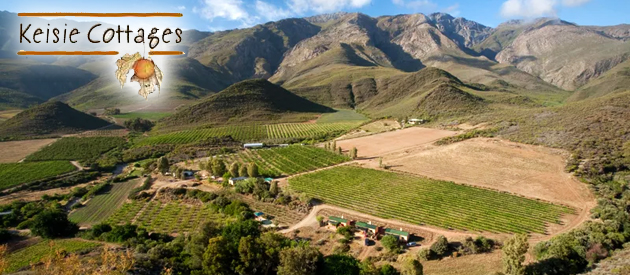 KEISIE COTTAGES, MONTAGU (24km)