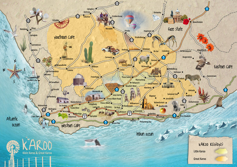 Maps of Karoo Information Travel Directory