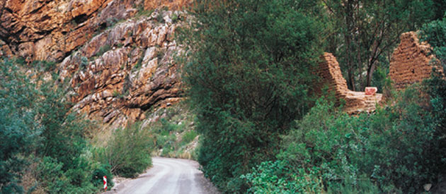 Seweweekspoort, in the Western Cape, South Africa.