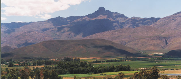 Ladismith, in the Eden region of the Western Cape, South Africa