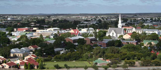 Beaufort West, in the Western Cape, South Africa, Accommodation and Businesses in Beaufort West