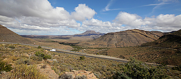 Leeu Gamka, in the Central Karoo region of the Western Cape, South Africa