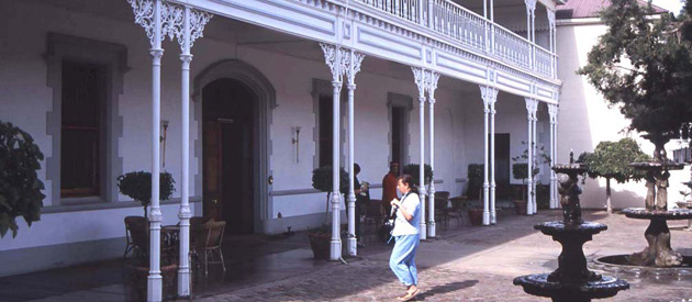 Matjiesfontein, in the Western Cape province of South Africa