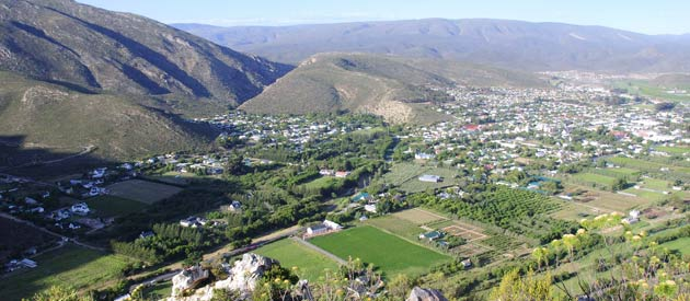 Montagu, in the Western Cape, South Africa