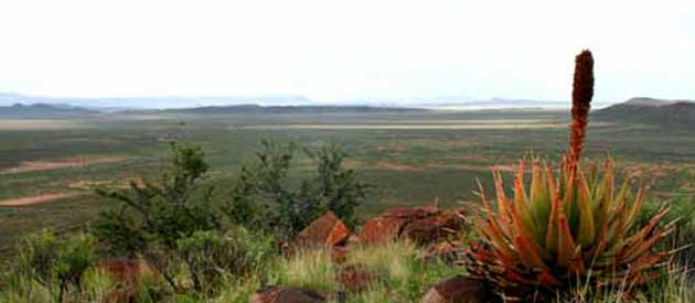 De Aar, in the Northern Cape, South Africa