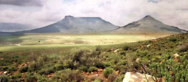 Fraserburg, in the Northern Cape province of South Africa