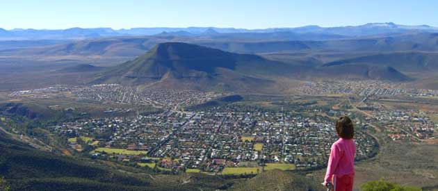 Graaff-Reinet, in the Eastern Cape province of South Africa
