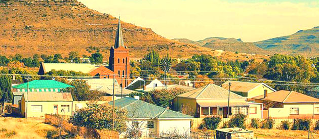 Steynsburg, in the Eastern Cape, South Africa.