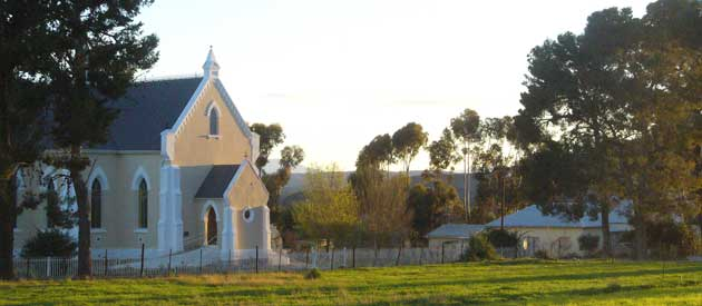 Van Wyksdorp, in the Western Cape, South Africa.